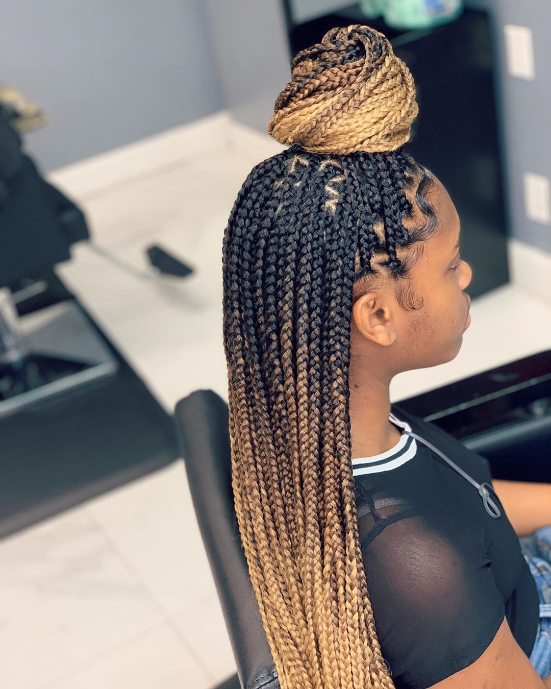 Best Braiding Hairstyles African American Hair 715 Store Hairspray For Men Black And Red Box Braids 50S Hairstyles