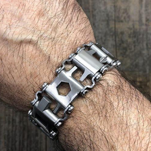 (SOLD OUT SOON) 29 in 1 Multi-Tool Wearable Stainless Steel Bracelet - Buy 2 Free Shipping