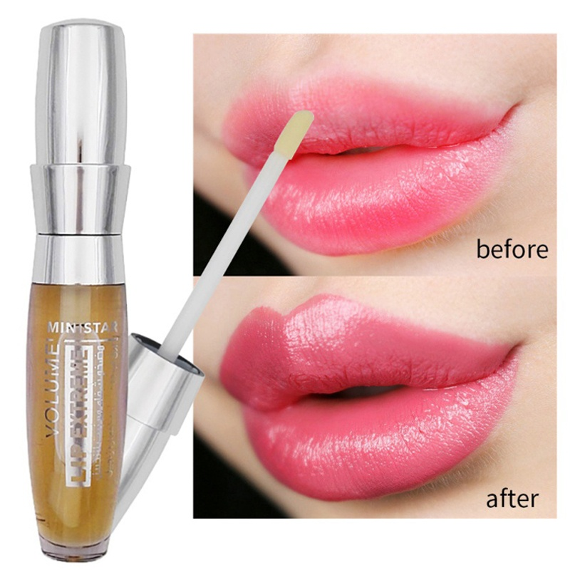 3D Newest Super Volume Plump it Lip Gloss Moisturizer Shiny Liquid Lipstick Long Lasting Lip Sense Korean Cosmetic