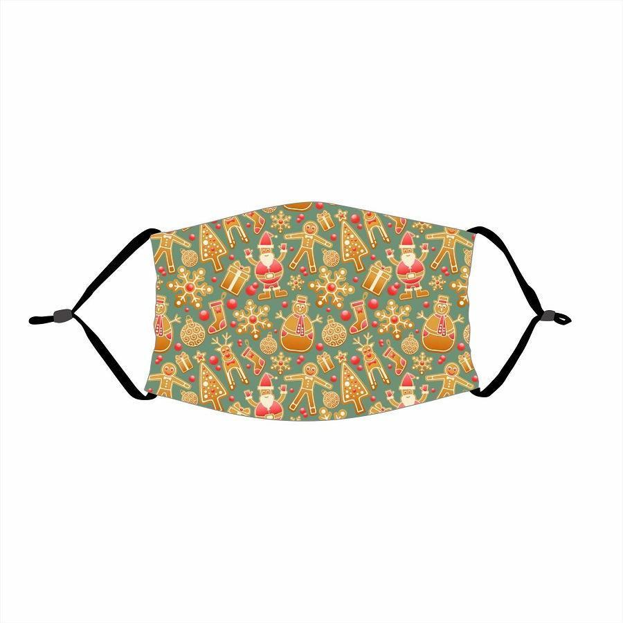 🌲🎅2020 Christmas Fabric Face Cover -11