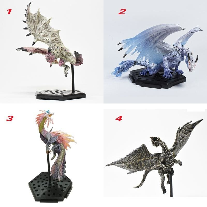 CA P COM Monster Hunter World PlusVol.10 Dragons Action Figures Collectable Toys Hand Models