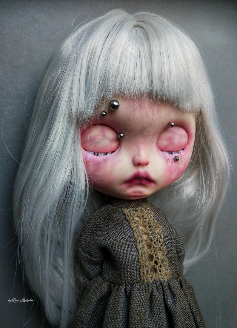 Gretta Albino-Exclusive collection doll,Blythe Doll