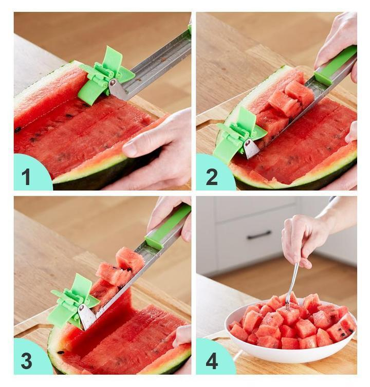 Aamzing Watermelon Windmill Slicer