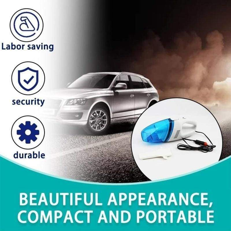 1 PC Auto Accessories High Power Dry and Wet Double Use Portable Handheld Car Vacuum Cleaner
