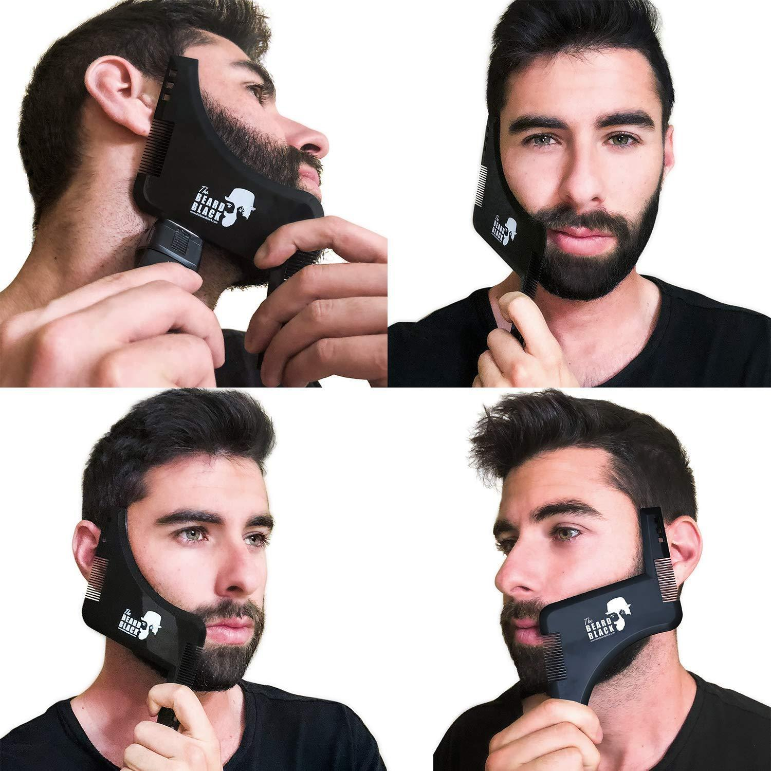 (Last Day Promotion&50% OFF)Rechargeable Electric Cordless Hair Trimmer - For Shaving Beard, Eyebrows & hair with Non-Slip grip desgin.