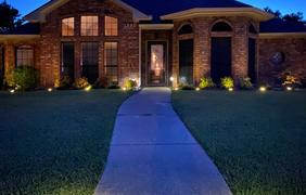 LED Solar Powered In-Ground Path Lights