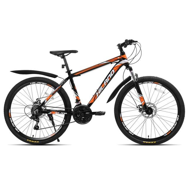 Speed Mountain Bike Bicycle 26  inch steel or aluminum frame red and black aviliable