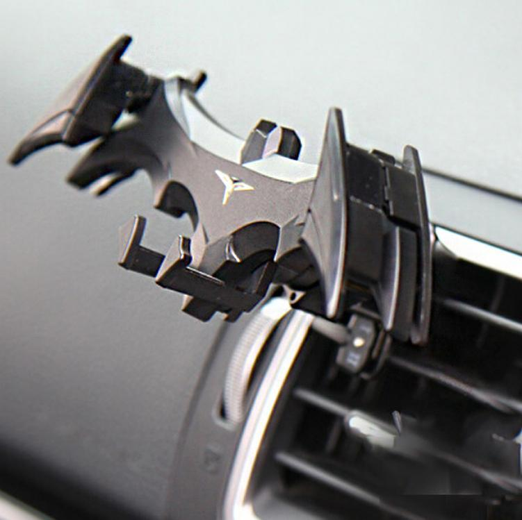 Bat-Shaped Car Phone Holder