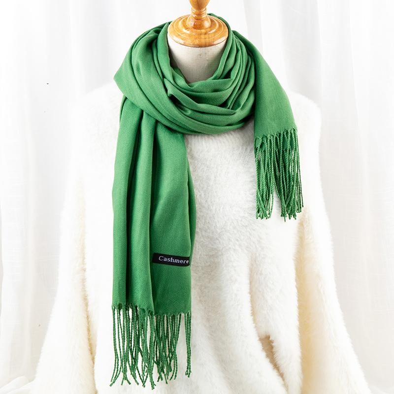 2019 fashion wholesale printed cashmere pashmina scarf-1.9