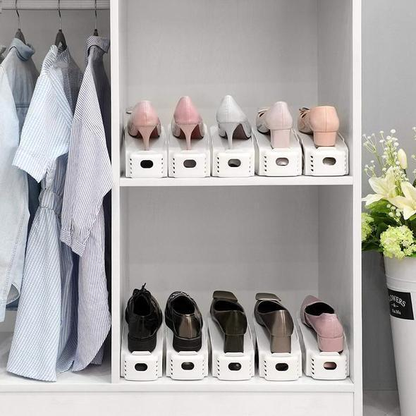Today 50% OFF - 2020 NEW Double Deck Shoe Rack
