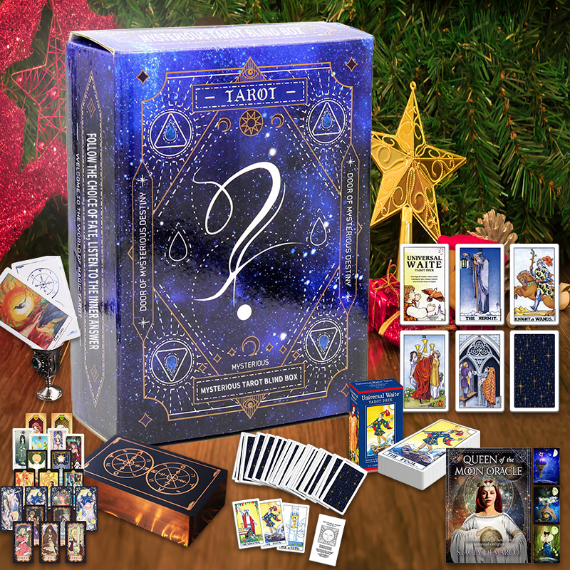 36 Style Imported Original Tarot Card Blind Boxes🔯