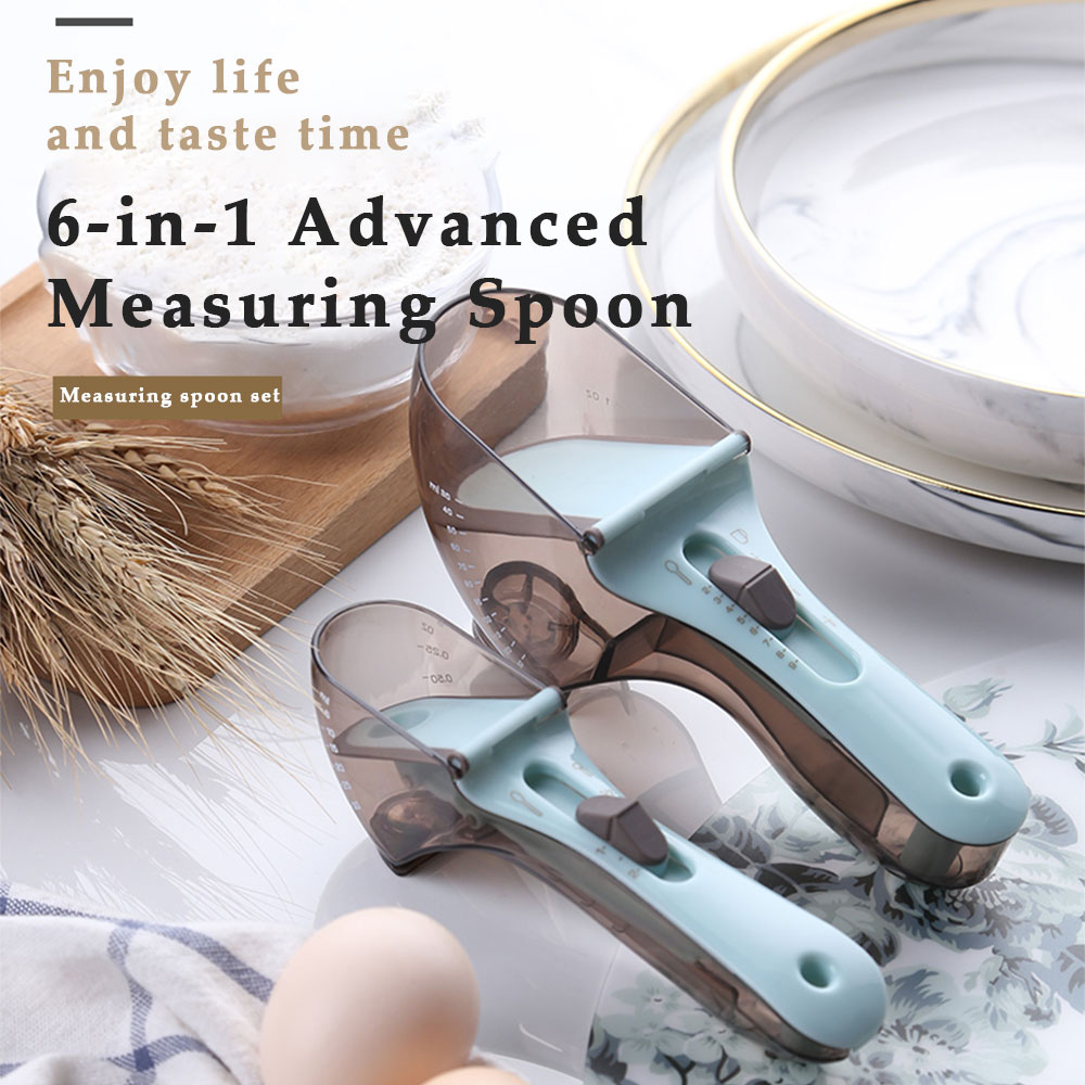 buy one large get one small free🔥6-in-1 Advanced Measuring Spoon🙀200 items per day