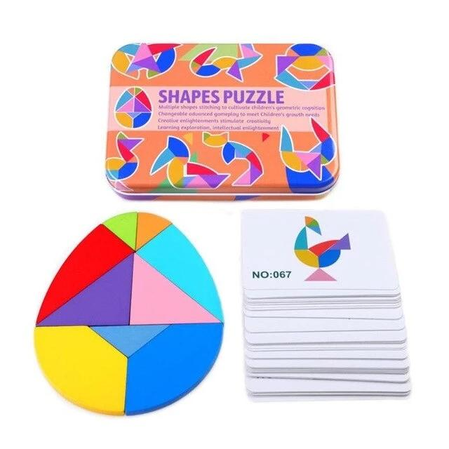 SKRTEN Shape Puzzle Educational Toy