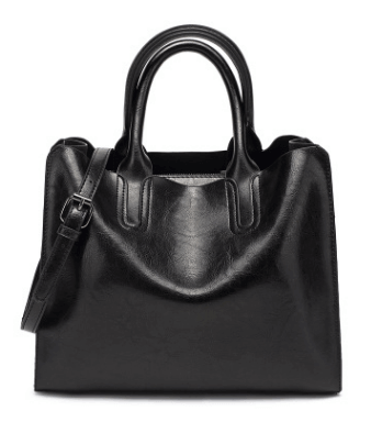 2019 Simple and stylish High capacity Leather Tote Handbags