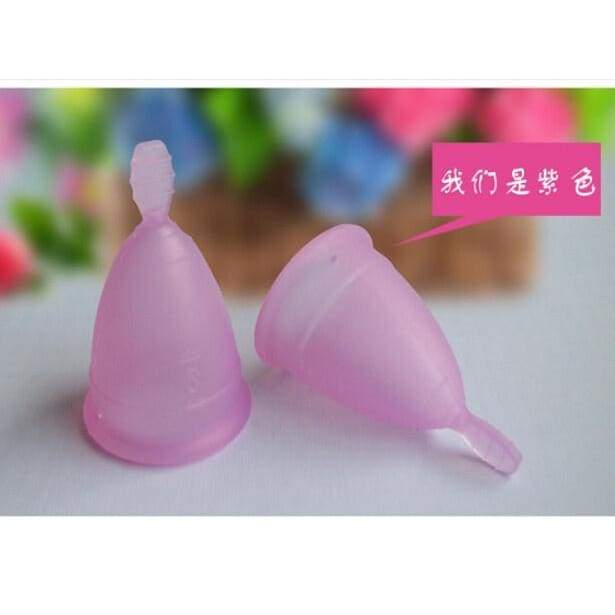 Women's Fashion Cute Health Care Beauty Feminine Hygiene Product Reusable Medical Grade Silicone Soft Menstrual Period Cup Home Kitchen