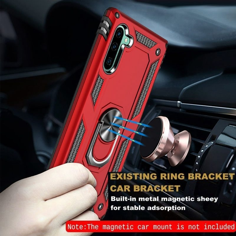 Luxury Magnetic Ring Holder Stand Shockproof Protection Case For Samsung Galaxy Note10Pro Note10 Note9 Note8 S10Plus S10 S10(5G) S10e S9Plus S9 S8Plus S8 A40 A50 A70 A20E For iPhone XsMax Xs Xr X For Huawei P30 P30Lite P30Pro P20Lite Mate20 Mate20Pro Mate