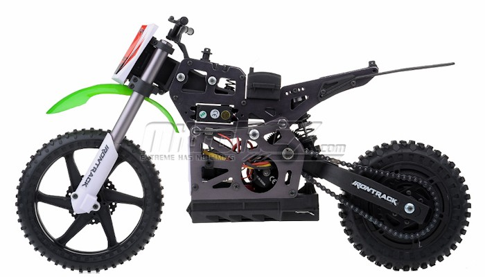 New 1/4 Scale MX400 Remote Control Electric ARTR Brushless Off Road Motorcycle