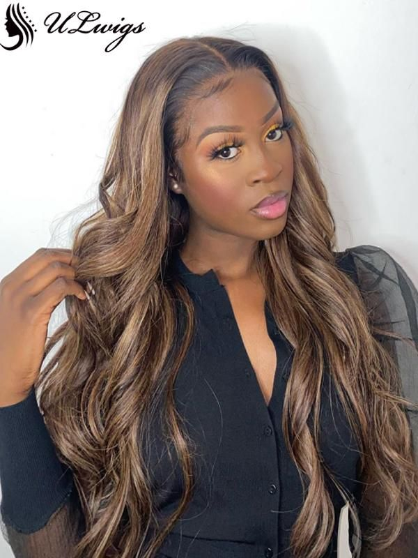 Lace Front Wigs Brown Wigs Blonde Wigs Ash Blonde Hair Wig Medium Beige Blonde Wigs For Black Women