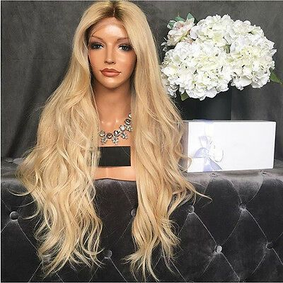2020 Fashion Blonde Wigs For White Women Blonde Closure Grey Blonde Ombre Loreal Preference 11.21 Dark To Blonde Balayage Ash Violet Hair Lace Frontal Wigs