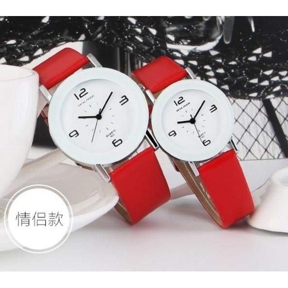 2019 Fashion Women Watches Bracelet Wristwatch ladies Geneva Watches Men Quartz Wristwatches Couple Watch Valentine's Day Gifts