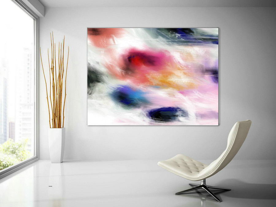 Extra Large Wall Art Palette Knife Artwork Original Painting,Painting on Canvas Modern Wall Decor Contemporary Art, Abstract Painting Pac404