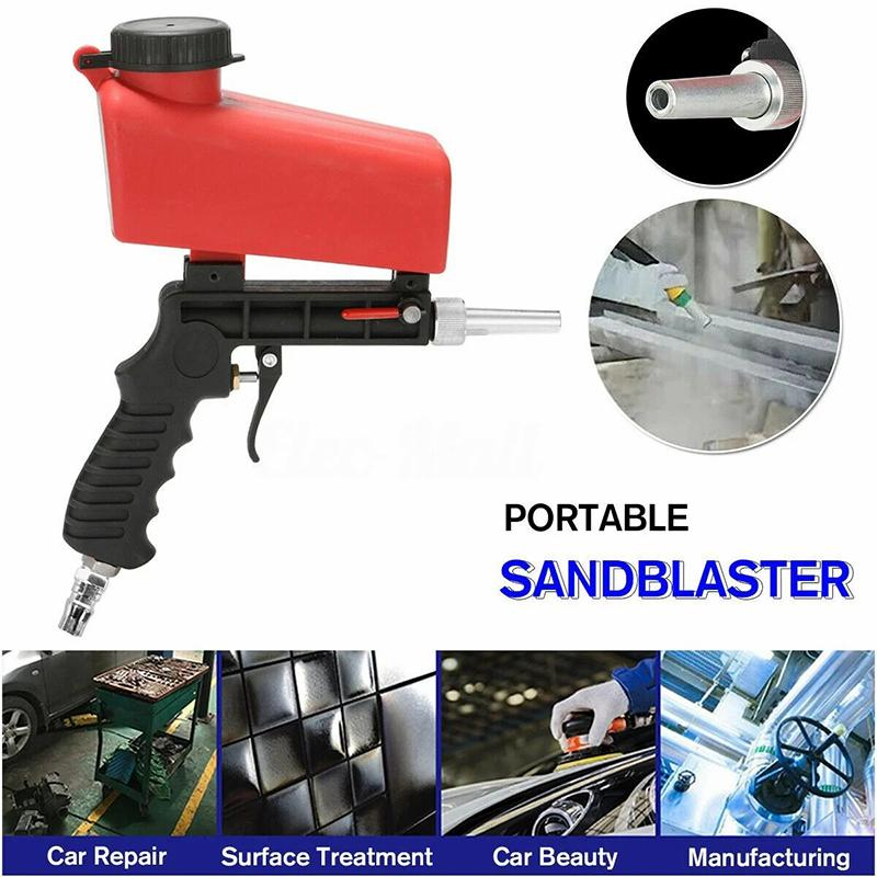 A Game-Changing Lightweight Tool  For All Kinds Of Sandblasting Jobs