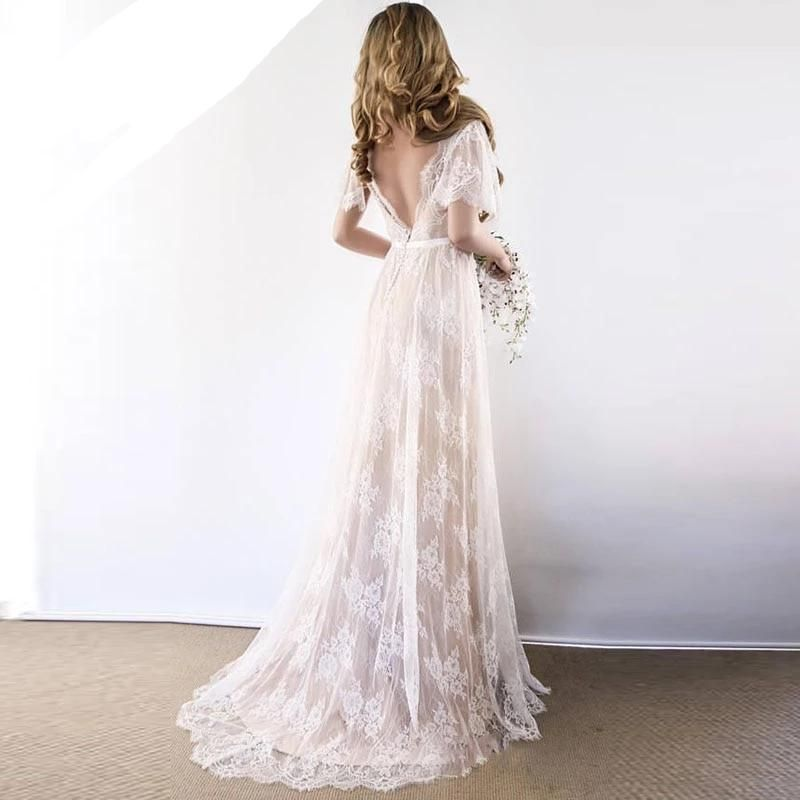 2020 Wedding Dresses Evening Wedding Dress Island Wedding Attire Long Floral Gown Mother Of The Groom Dresses For Summer Outdoor Wedding