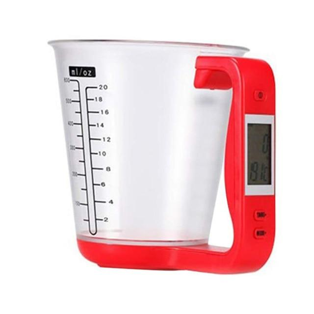 Kitchen Measuring Cup Digital Electronic With LCD Display Multifunctional