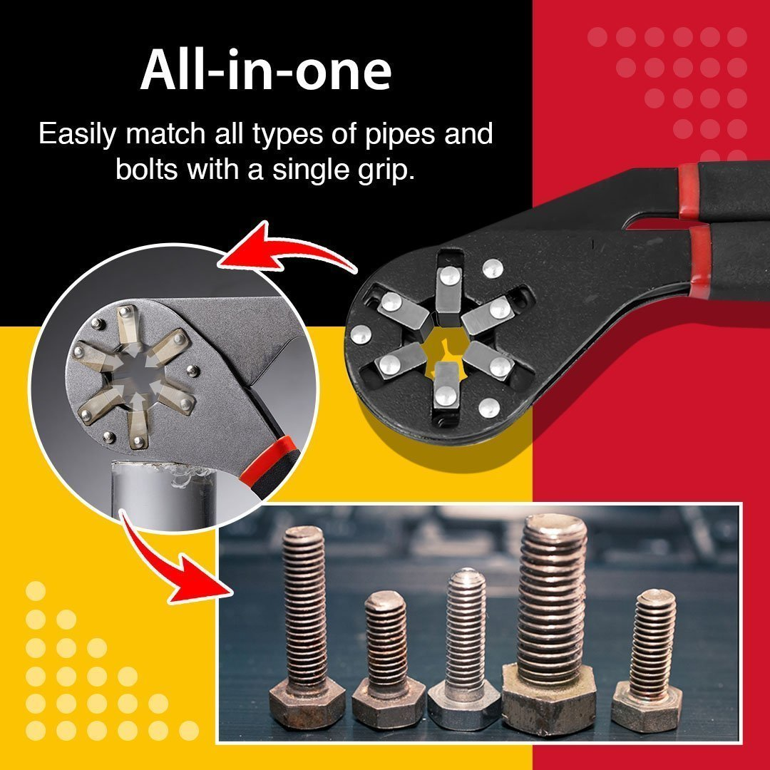 Magic Adjustable 6-Sided Grip Wrench