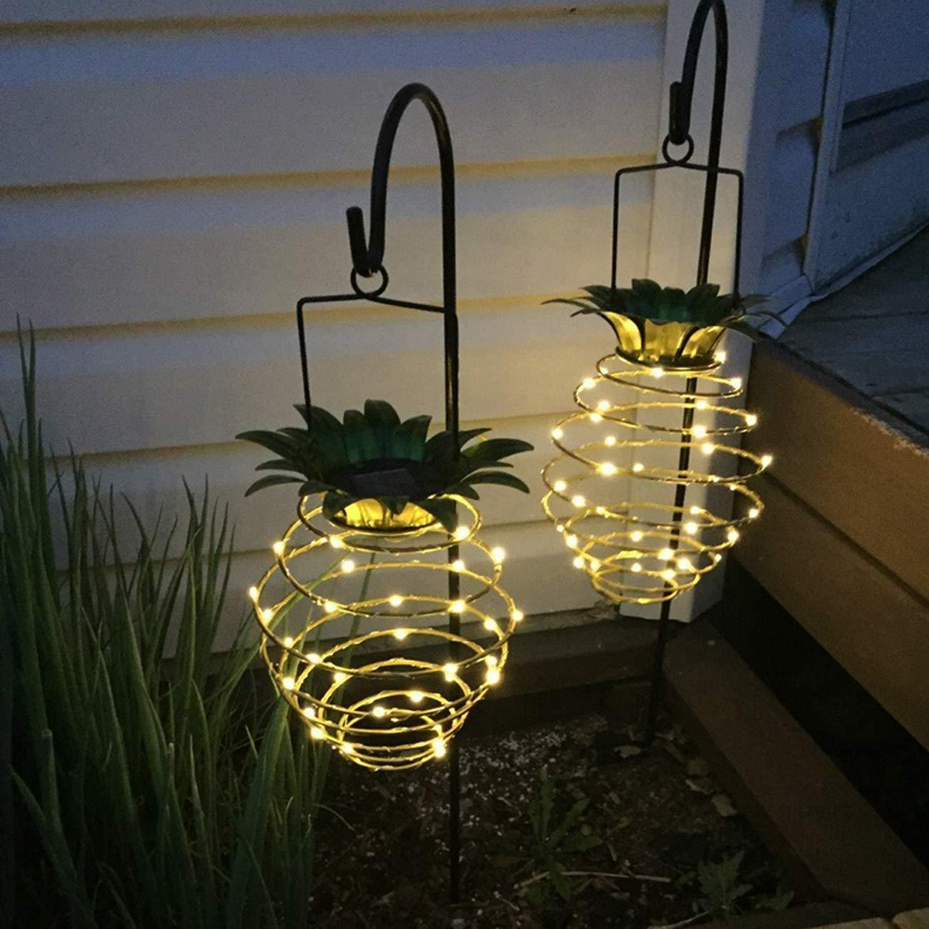 Solar Waterproof Pineapple LED Light