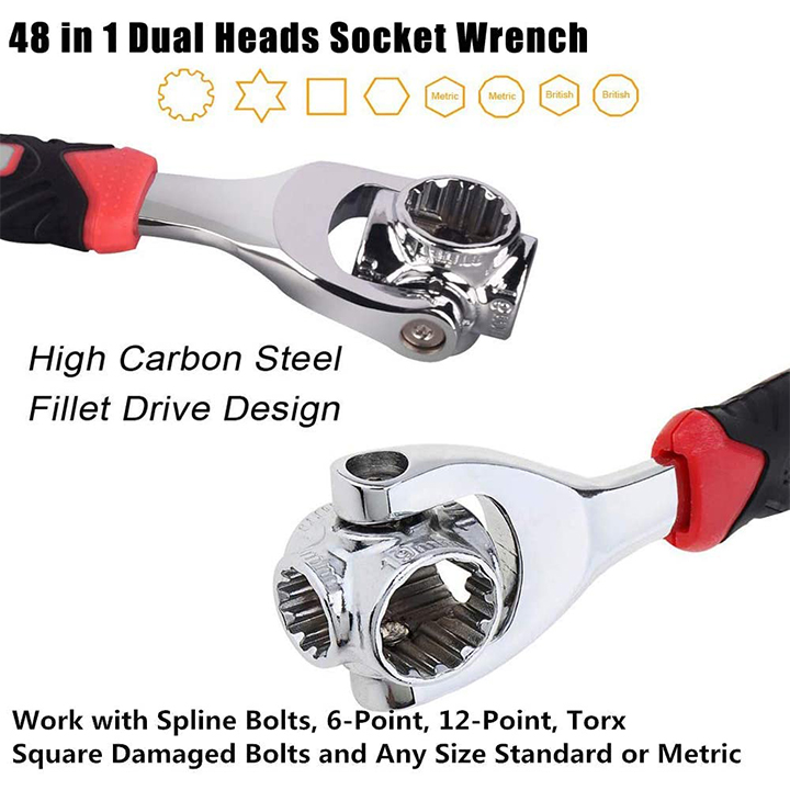 48 in 1 Universal Wrench - UNIVERSAL WRENCH®