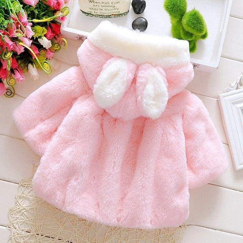 Winter Warm  Kids Winter Warm Hooded Coat Baby Outerwear Clothes 0-48 Months