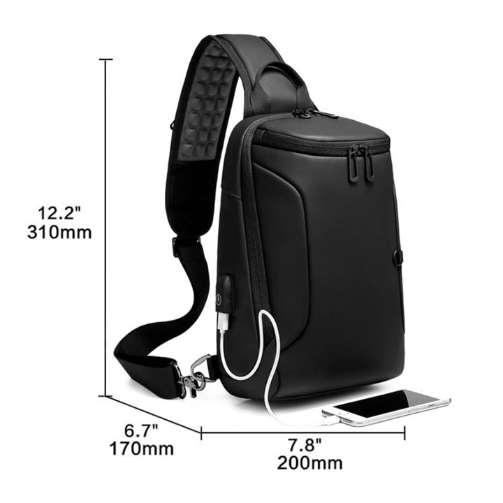 Multifunctional Waterproof Cross body Bag - FREE SHIPPING