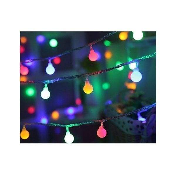 1.5/3/4.5/6/10m LED Light String Globe Star Fairy Light for Wedding Christmas Decoration
