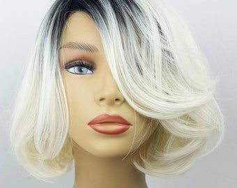 2021 New Lace Front Wigs Straight Brown Hair With Blonde Highlights Gray Hair On Brown Skin Best Hair Color To Cover Gray Roots