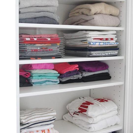 【ON SALE AT 50%OFF】Effortless Clothes Organizer (10 PCS)