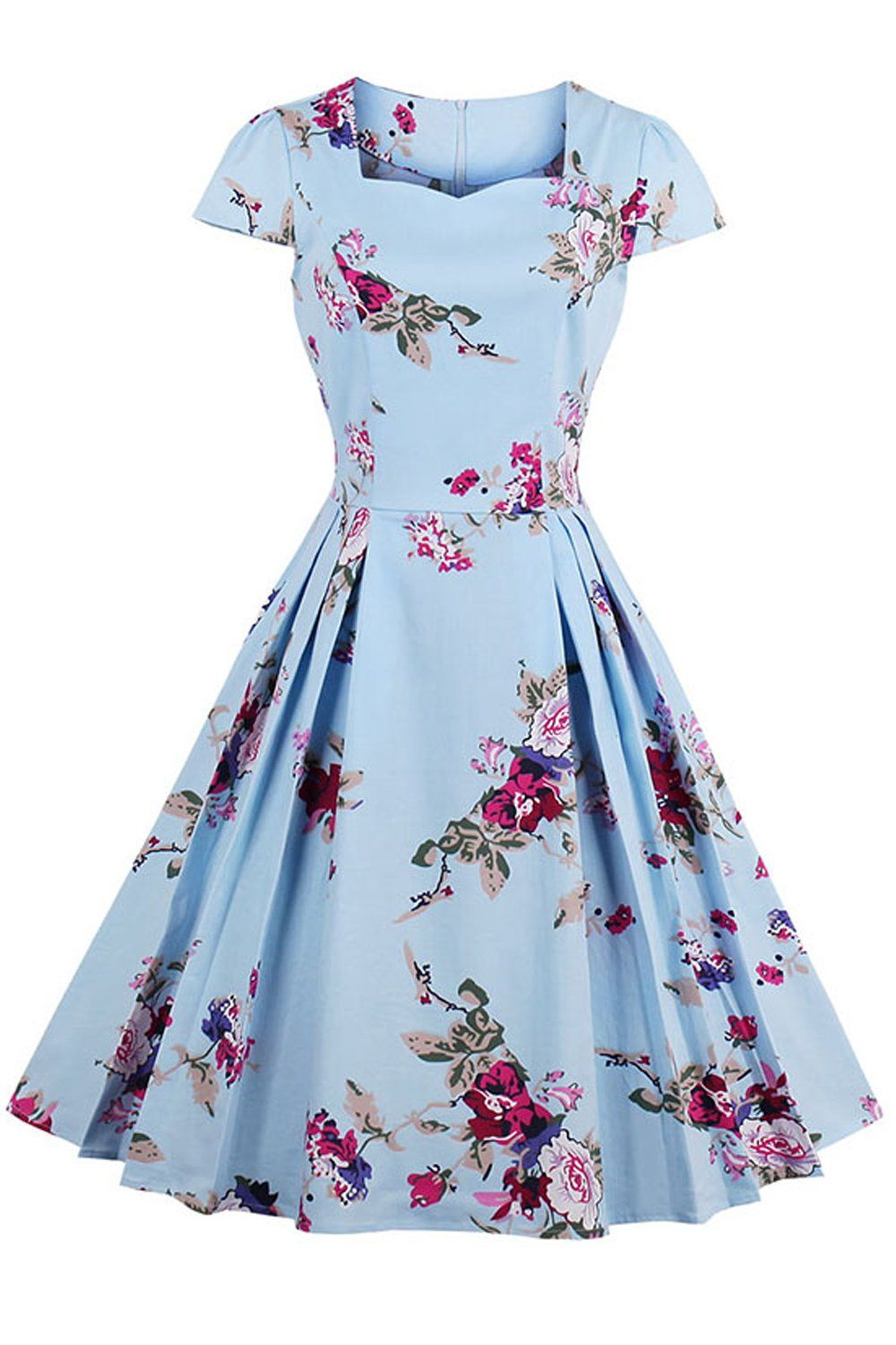 2020 Women Dress Casual Dress Print Pinafore Dress Casual Summer Dresses With Sleeves