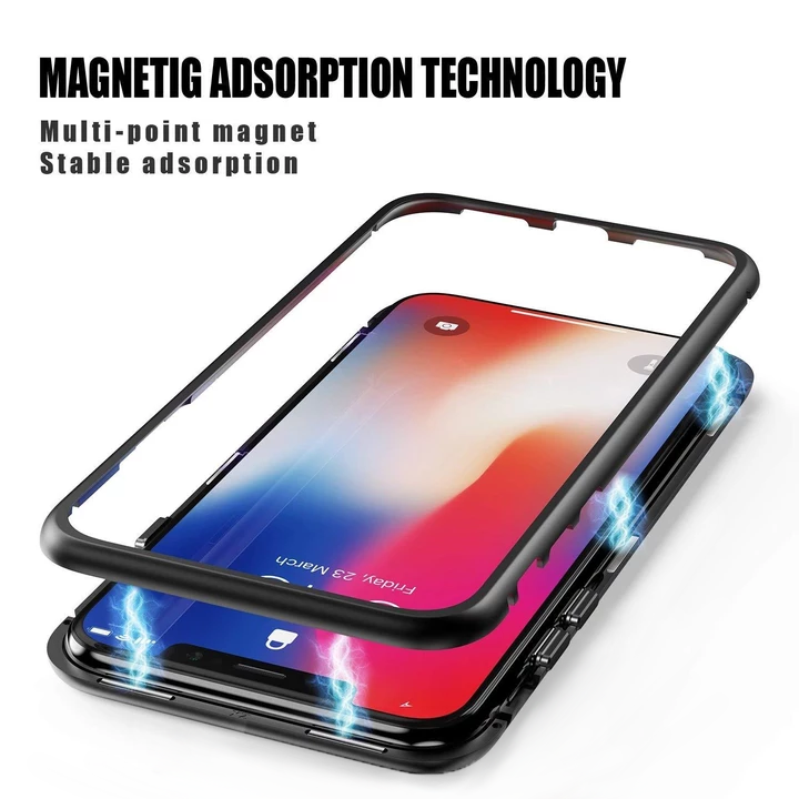 Luxury Magnetic Adsorption Metal Case For IPhone (Buy 2 free shipping!!)