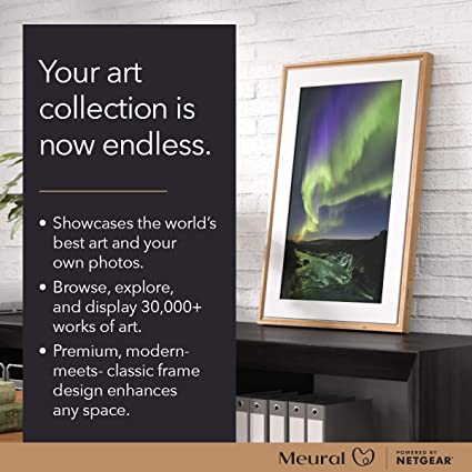 The Smart Art Frame with