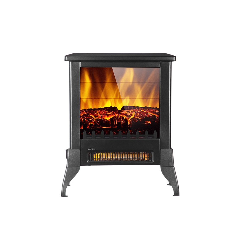 Buyonhome 14 inch 1400w Electric Fireplace Stove Portable Freestanding Fireplace