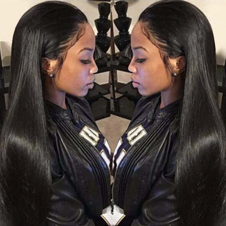 CLASSYWIG|Straight 360 Lace Frontal Wigs 150% Density Human Hair Wigs For Black Women