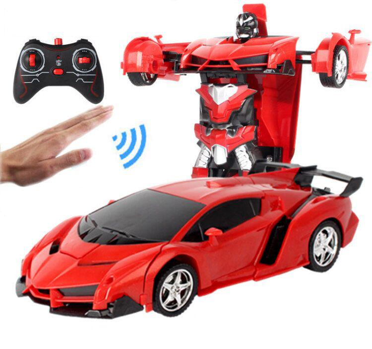 1:24 Remote control car automatic deformation robot