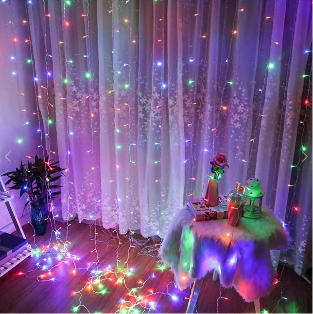 FAIRY CURTAIN LIGHTS GARLAND