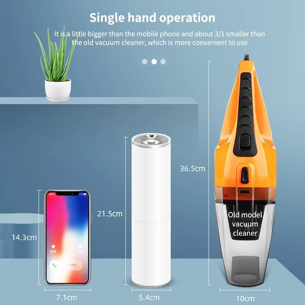 HANDHELD AUTO VACUUM CLEANER(BUY 2 Get Free shipping and Extra 10% OFF!!)
