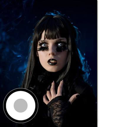 Halloween Cosmetic Contact Lenses😱💥