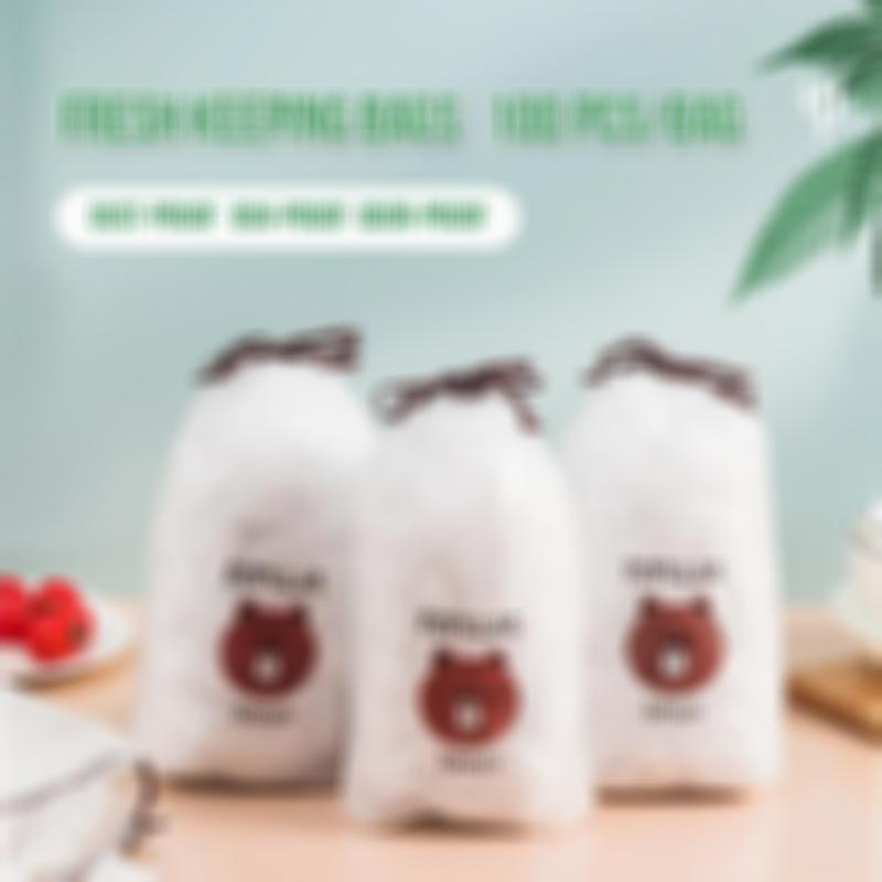 (Early Mother's Day Hot Sale-48% OFF)Fresh Keeping Bags 100pcs(BUY 2 GET 1 FREE)