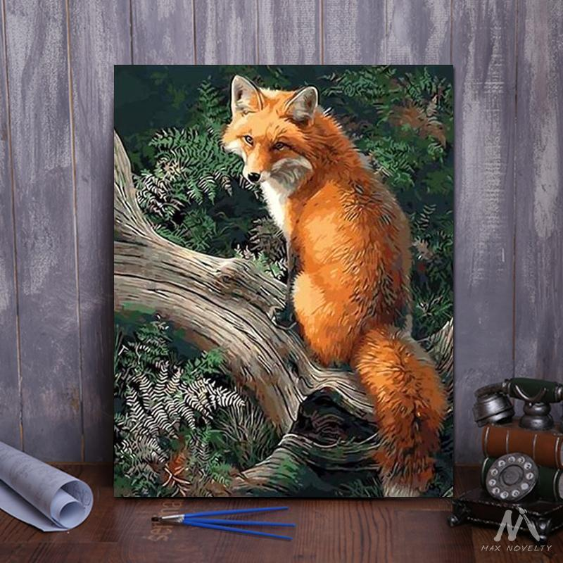 DIY Painting By Numbers - Fox (16