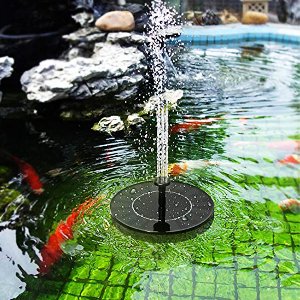 【New Year discount-60% OFF】Solar Powered Fountain Pump