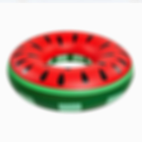 120cm Watermelon Swim Ring   Summer Swimming Inflatable Pool Floats
