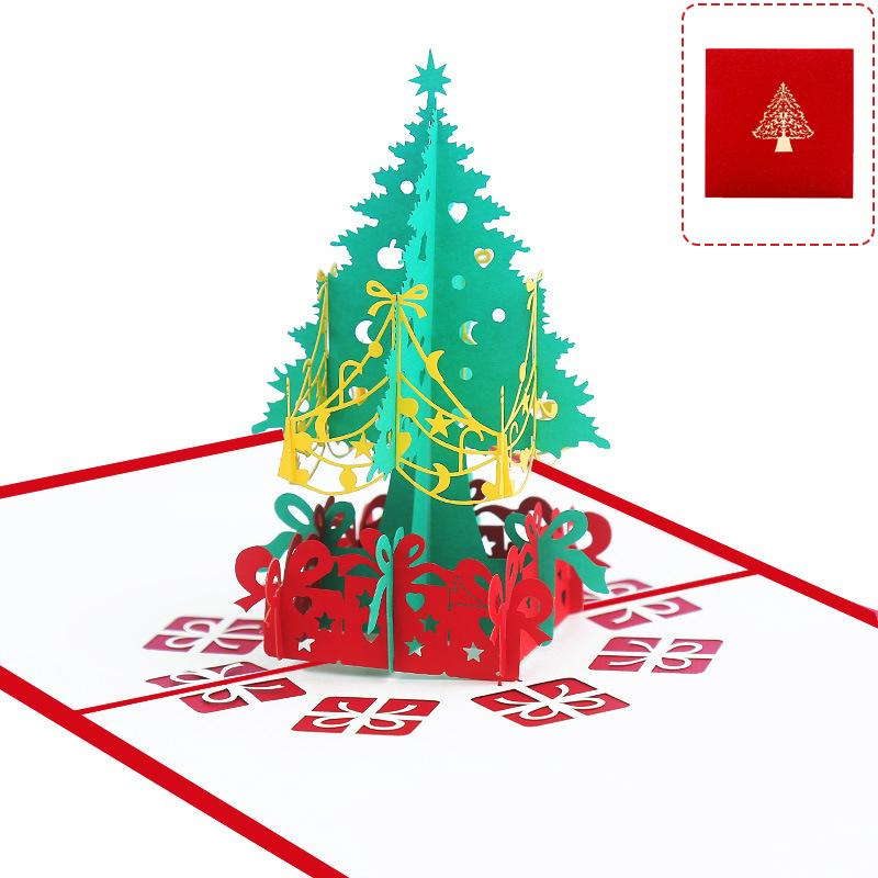 Christmas Cards 3D Pop Up- Buy All Cards Save More!